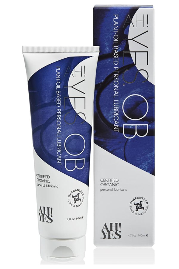 AH! YES OB Natural Plant-Oil Based Personal Lubricant
