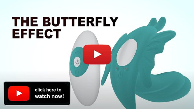 Screenshot From YouTube Video About The Evolved Butterfly Effect G-Spot Massager On YouTube