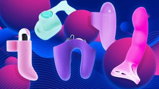 Colorful Collage Of The Five Best Finger Vibrators