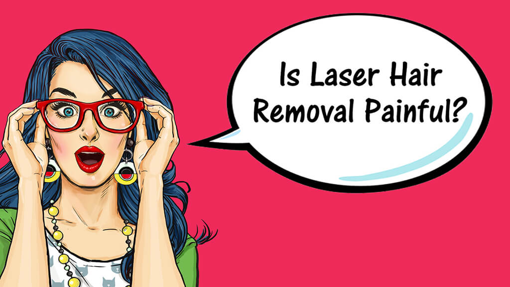 Caucasian Woman Asking If Laser Removal Of Her Butt Hair Will Be Painful