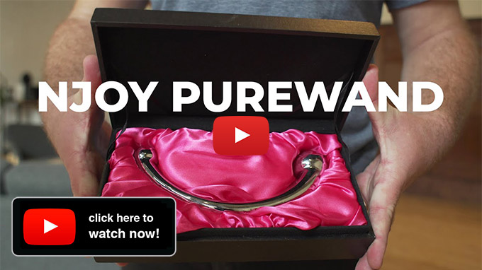 ScreenShot Of A Youtube Video About njoy Pure Wand