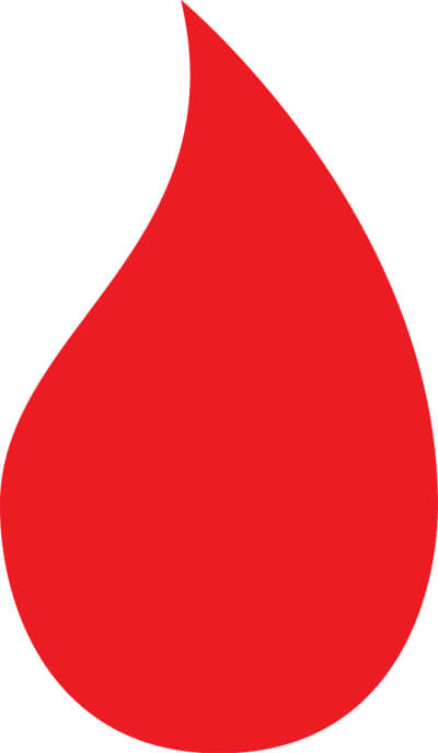An Icon Of A Red Droplet Symbolizing Menstrual Blood