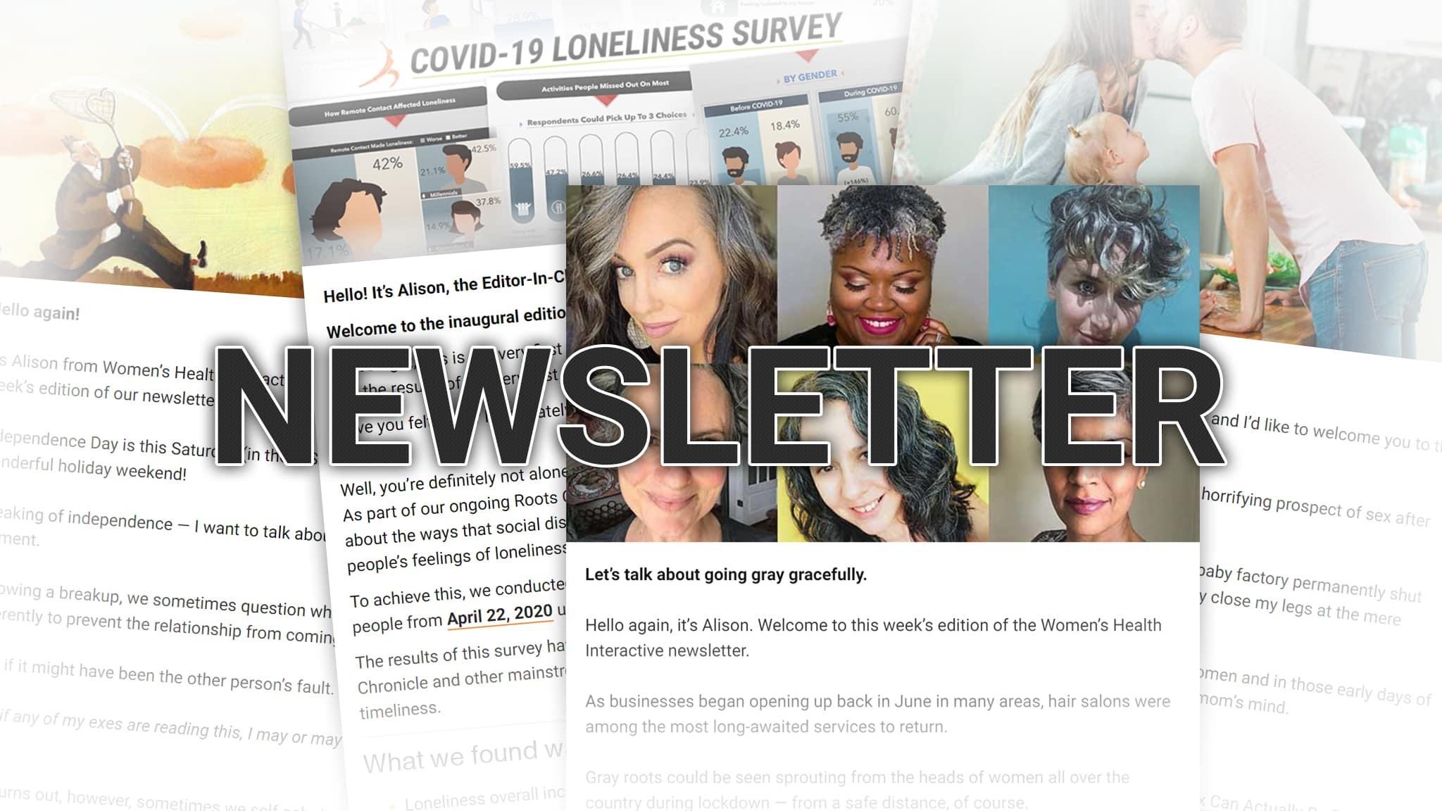 Women's Health Interactive Newsletter